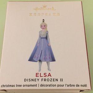 "Hallmark Keepsake ornament Elsa Disney Mini 1 3/8"""